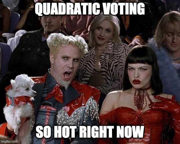 Quadratic Voting